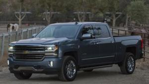 Chevy Silverado Grey