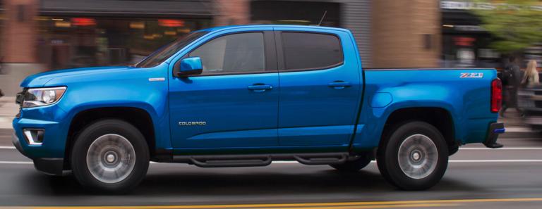Chevy Colorado Blue