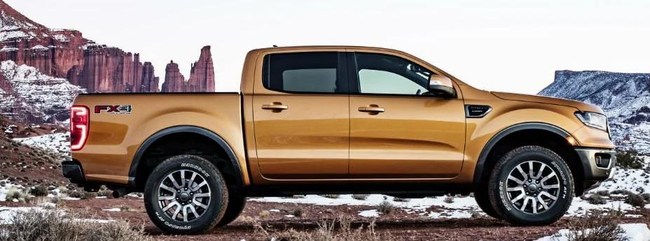 Gold Ford Ranger