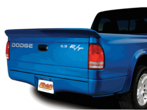 Dodge truck with spoiler