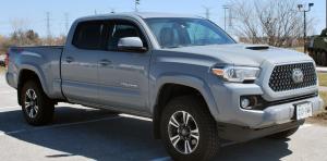 Grey Toyota Tacoma
